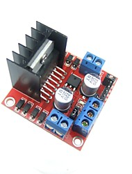 L298N dupla H Ponte Stepper Motor Driver Controlador Módulo Board para Arduino UNO MEGA R3 Mega2560 Duemilanove Nano Robot
