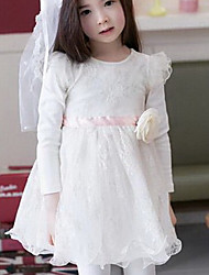 Girl's Dress Cotton Spring / Fall