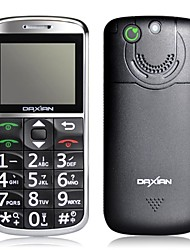"Daxian ® GS2000, de 2,0 ""Telefone sênior (Dual SIM Card, SOS Emgergency Chamada. Keyboard Big, Big Speaker. MP3)"