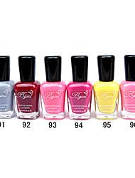 French Imports Makings Pro-environment Nail Polish NO.91-96(16ml,Assorted Color)