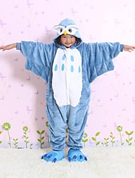 NEW cosplay owl Flannel Toilet version Children Kigurumi Pajama