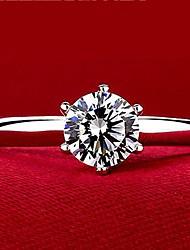 Zilver Dames Ringen Kubieke Zirkonia Zilver