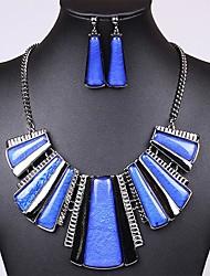 Women's Vintage Resin (Necklaces&Earrings) Gemstone Jewelry Sets