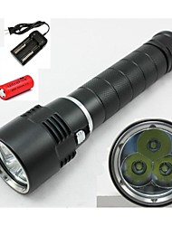 LED Flashlights / Lanterns & Tent Lights / HID Flashlights / Diving Flashlights Mode 4000 Lumens LumensWaterproof / Rechargeable / Impact
