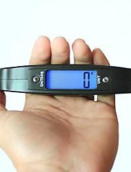 Digital Handheld Scale Electronic 50kg/ 10g ,Plastic 12x7x2cm