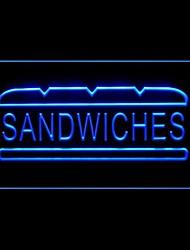 Sanduíches Subs Pão Publicidade LED Sign