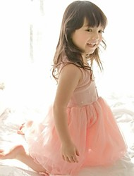 Girl's Dress Chiffon Summer