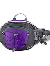 tergal montagne 8l respirabilité vélo taille sac violet extérieure renforcée de sac de poitrine