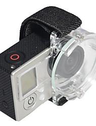 Gopro Объектив Воздушная протектор Крышка ремешок крышки Очистить для GoPro Hero 1/2/3 камеры