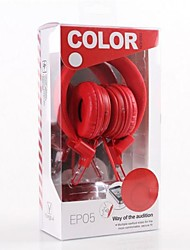 EP05 Com Microfone Over-Ear Headphone para Mobile Phone Computer e MP3 (cores sortidas)