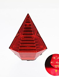Cycling Plastic Diamond Waterproof  LED Bicycle Tail Light