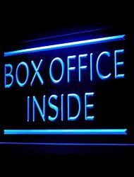 Light Box Office Publicidad LED Entrar