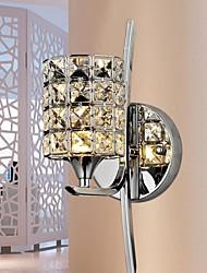 3w créatifs appliques en cristal avec une lumière