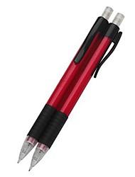 механика автомат pencial 0.5mm (красный, 2 шт)