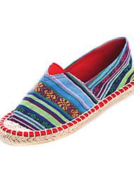 Frabic женские плоским пятки комфорта бездельники обувь