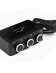 3 - Cigarette Socket adattatore del caricatore accendisigari con USB caricabatteria da auto (12 ~ 24V)