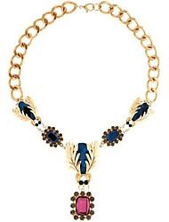 nuevo collar de piedras preciosas de insectos de las mujeres