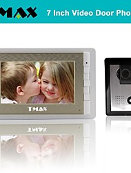 "TMAX® 7"" Video Door Phone Doorbell Intercom System with 500TVL Night Vision Camera"