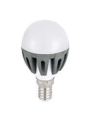 Ampoules Globe Décorative Blanc Froid A E14 3 W 18 SMD 2835 300lm LM 6000K K AC 100-240 V