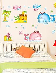 Doudouwo ® Животные Прекрасный Кит стены стикеры