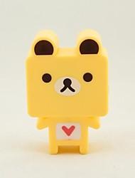 QiDu New Strange New High Quality American Standard Plug Led Plug-in Electric Small Night Light Yellow (bear)