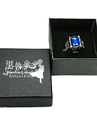 Kuroshitsuji Ciel Phantomhive Sapphire Ring Cosplay accessoire