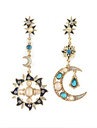 JoJo&Lin Moon Star Sun Pattern Earrings