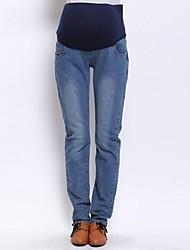 Brève de grande taille maternité Jeans Pantalons Jeans Pantalons Femme Enceinte