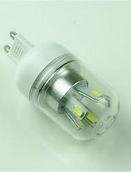5W G9 Lâmpadas Espiga T 10 SMD 5730 400 lm Branco Frio Decorativa AC 85-265 V