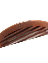 16cm de madeira Comb cabelo