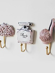 The Coat  And Cap Hooks Hanging Of Creative Set Of 3