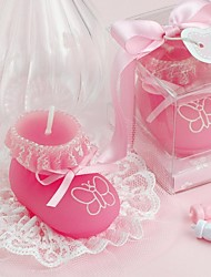 Baby Shower Baby Shoes Candle (More Color)