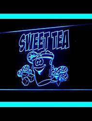 Sweet Tea Lemon Advertising LED Light Sign