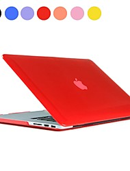 "Solid Color PC Hard Case with Crystal for MacBook Pro Retina 13""(Assorted Colors)"