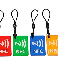 NXP Ntag203 144 Bytes 13.56MHz Smart NFC Tags for Cellphones  (4 PCS)