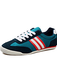 Men's Shoes Casual Canvas Fashion Sneakers Blue/Green/Red/Gray