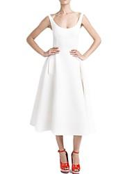 Vestido largo elegante de Z & G mujeres