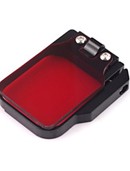 G-414 Professional High Precision Aluminum Alloy Dive Housing Filter for Gopro Hero3