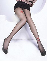 Ultra-thin Wire Core-spun Yarn Elasticity Lips Tights Soft Sexy Nylon Pantyhose Hosiery
