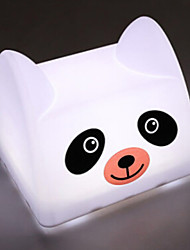 Panda Shaped USB Chargeable Tap Switch LED Table Lamp