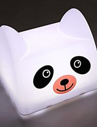 Panda USB em forma Tap Chargeable Mudar LED Table Lamp