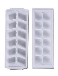 "iamond Ice Mould Plastic Ice Cubes (Random Color) ,  Plastic 9.32""X3.52""X1"""