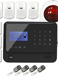 GSM Wireless Home Security Burglar Alarm system GS-G90E