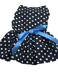 Polka Dot Tank Dress (Black White Dot)