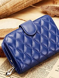 Formal / Sports / Casual / Event/Party-Clutch / Wallet / Card & ID Holder / Coin Purse / Wristlet-Sheepskin-Women