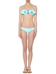 Foclassy™Women's Solid Zipper Bikini Set