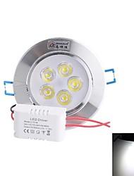 белый свет Светодиодная лампа потолка (AC 85 ~ 265В) 5w