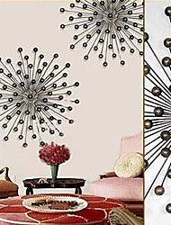 Metal Wall Art Wall Decor Globular Sunflower Wall Decor