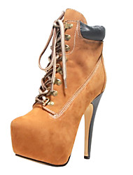 Women's Shoes BC Round Toe Stiletto Heel Ankle Boots