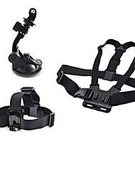 accessoires GoPro 3 dans une tige de selle guidon pôle + + voiture monopode ventouse pour GoPro héros 1 2 3 3+ caméras